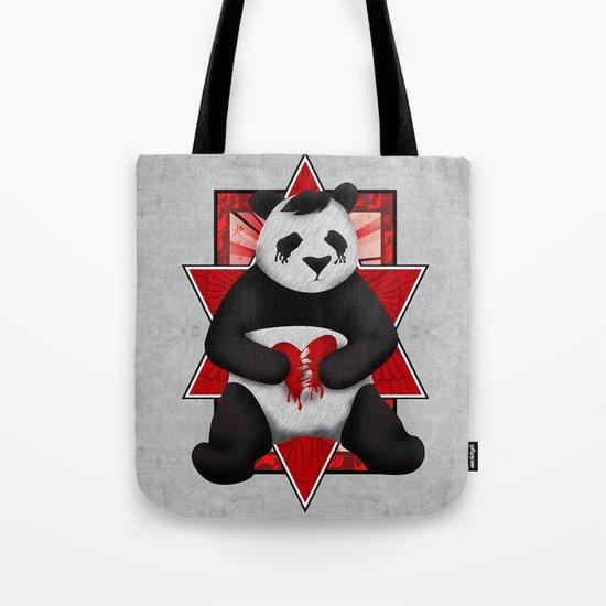 Emo Panda Tote Bag