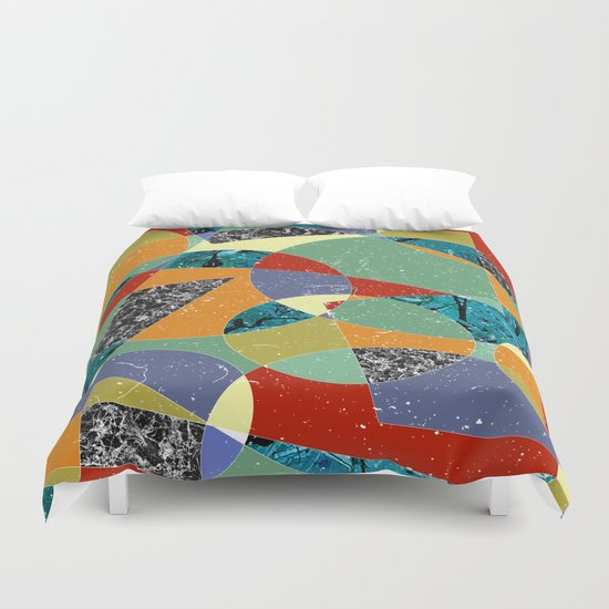 Abstract #100 Duvet Cover
