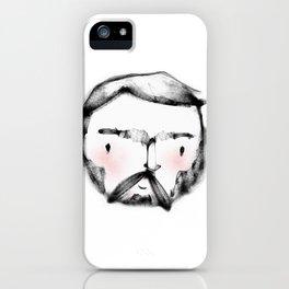 Geometric Macho Man iPhone Case