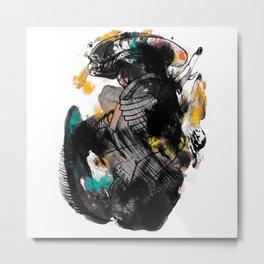 Alien Xenomorph Fan Art Metal Print