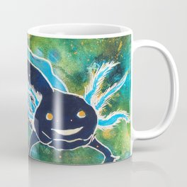 Navy Cosmic Astra-lotl Coffee Mug
