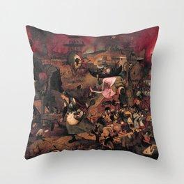 """Pieter Bruegel (also Brueghel or Breughel) the Elder """"Dulle Griet"""" Throw Pillow"""