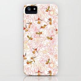 Flower Garden Dance iPhone Case