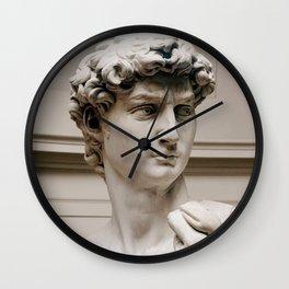 "Michelangelo ""David"" (head)(1) Wall Clock"