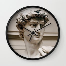 "Michelangelo ""David"" (head)(1) Wall Clock"