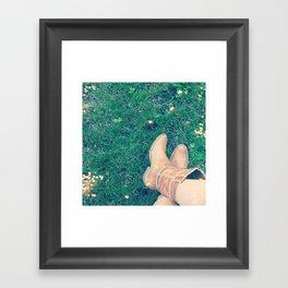 yeehaw Framed Art Print