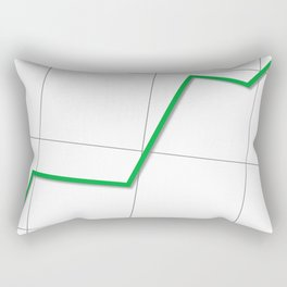 Statistic Up Rectangular Pillow