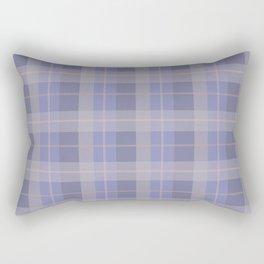 AFE Purple Plaid Pattern Rectangular Pillow