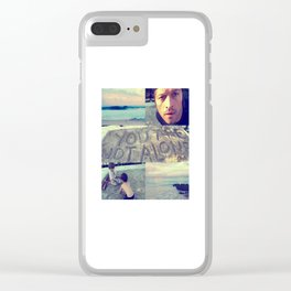 you are not alone aesthetic Clear iPhone Case