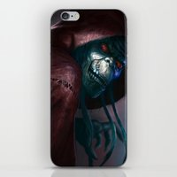 thundercats iPhone & iPod Skins featuring Mumm-ra by ImmarArt