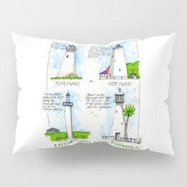 Mississippi Lighthouses Pillow Sham