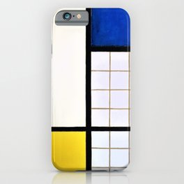 Theo van Doesburg - Composition in Half-Tones - Digital Remastered Edition iPhone Case