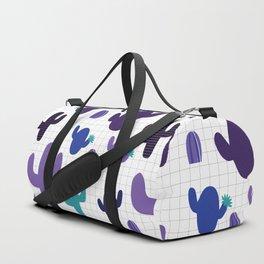 Cactus purple #homedecor Duffle Bag
