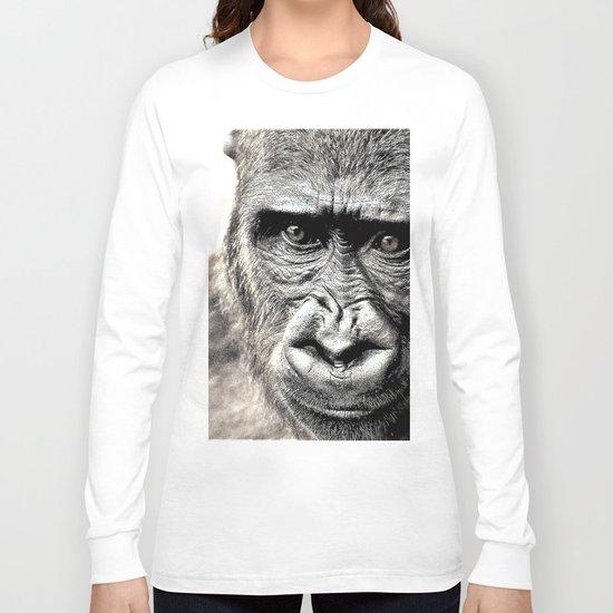 Gorilla Sketch Long Sleeve T-shirt