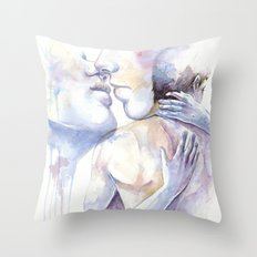 Addicted to You Throw Pillow