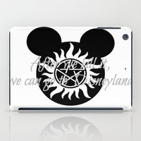 supernatural iPad Cases featuring Supernatural by kltj11