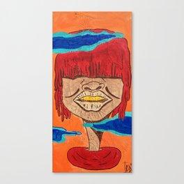 Tribe Woman of Harama Canvas Print