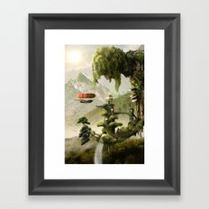 Giant Willow Fantasy Framed Art Print