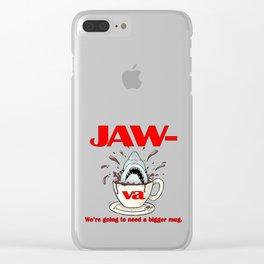 Jaw-va Clear iPhone Case