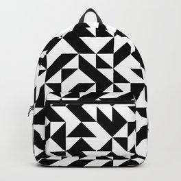 Black Square Backpack