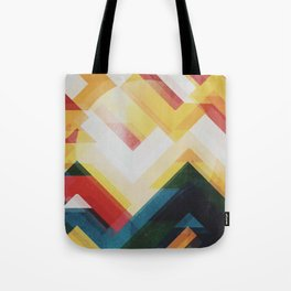 Mountain of energy Tote Bag