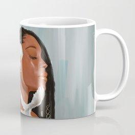 Girl in a bow Coffee Mug