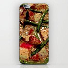 Vegetables Cooking iPhone Skin
