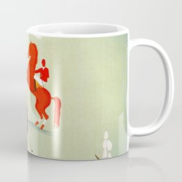 Horse riding, golf and tennis in 1920s Merano Coffee Mug