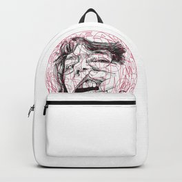 Self-portrait with a tooth and spider Backpack
