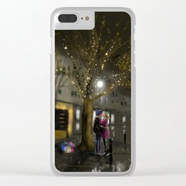 The Last Gift of Christmas Clear iPhone Case