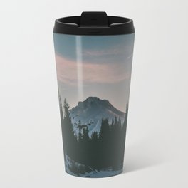 Frozen Mirror Lake Travel Mug