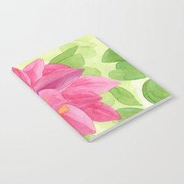 Pink Dahlia Notebook