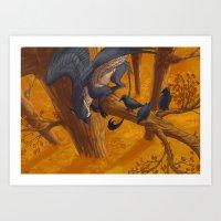 Griffon Art Print