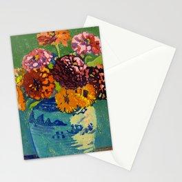 Zinnias and Marigolds Artist Margaret Jordan Patterson Date ca. 1921  Stationery Cards