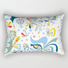 Real Deal white Rectangular Pillow
