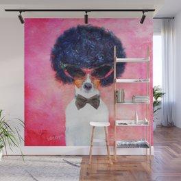 Charlie - Dog Portrait Wall Mural