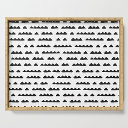 Hand Drawn Pyramids Serving Tray