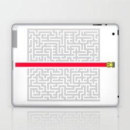 CROSS THE MAZE Laptop & iPad Skin