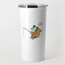 Fishing in a alternate universe Travel Mug
