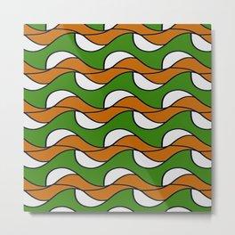 Kale 18 Spring waves Metal Print