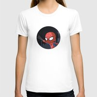 chibi T-shirts featuring Chibi Spider by Nozubozu