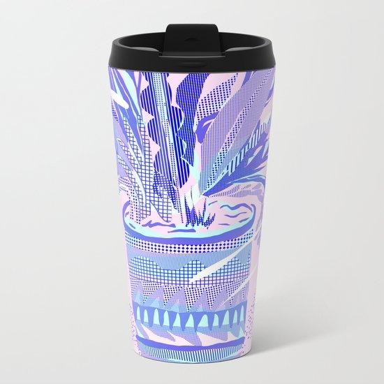 plant smell Metal Travel Mug