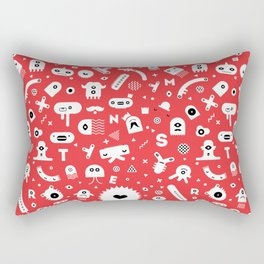 Little Monsters Rectangular Pillow