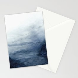 Indigo Abstract Painting | No.2 Stationery Cards
