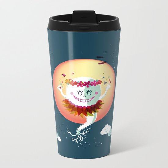Fiorelina Metal Travel Mug