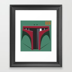Boba Fett - Starwars Framed Art Print