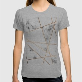 Marble Geometry 054 T-shirt