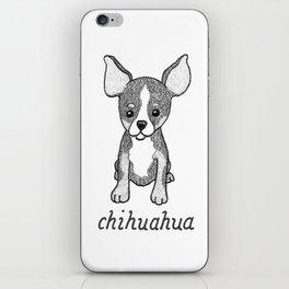 Dog Breeds: Chihuahua iPhone Skin