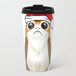 Santa Porg! (w/ beard) Travel Mug