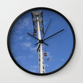 Emirates Cable Car And British Airways Wall Clock